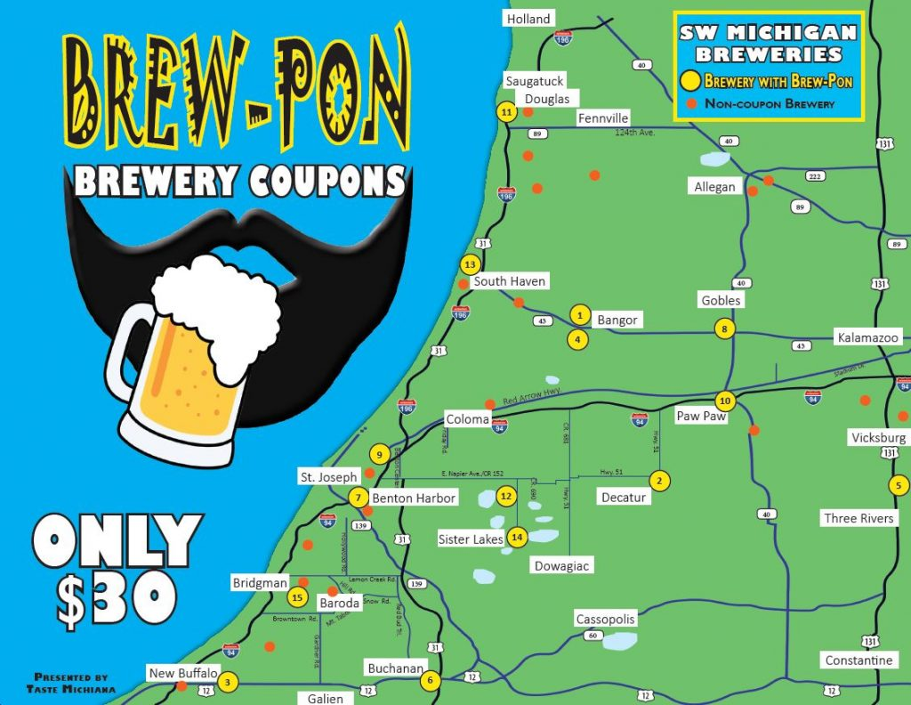 BREW-PON BREWERY COUPONS COVER