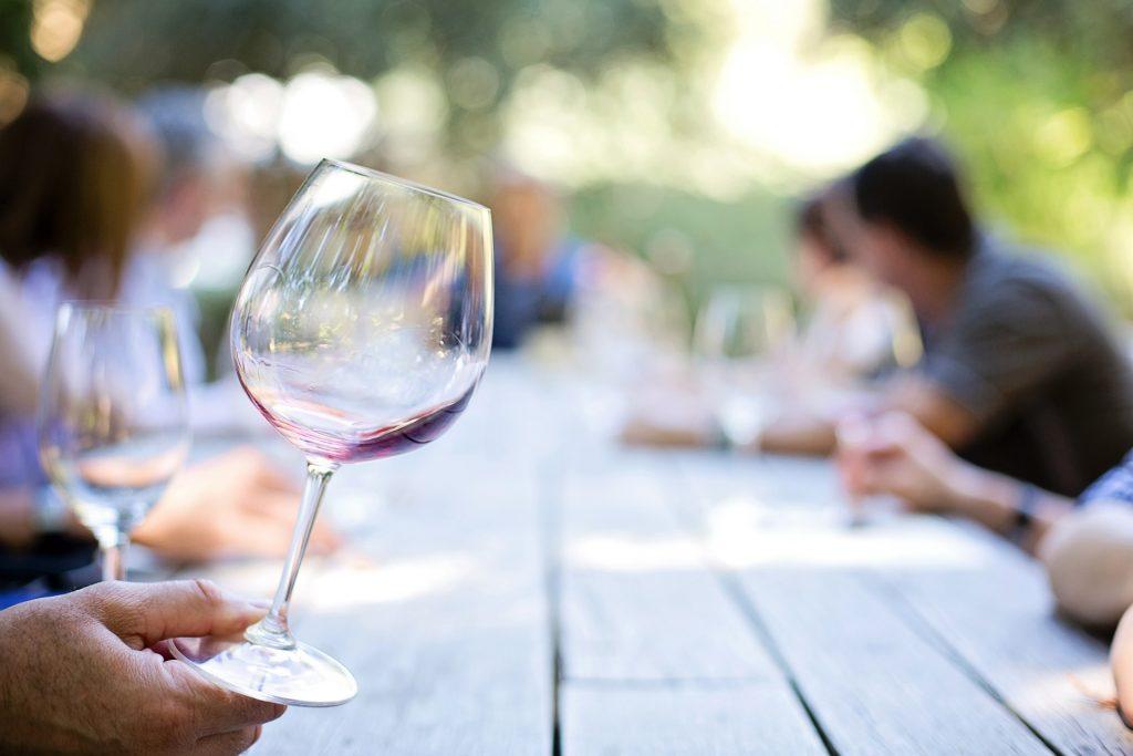 Wine tasting at wineries